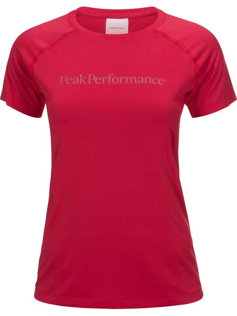 Peak Performance Gallos Co2 - T-shirt manches courtes Femme - rose